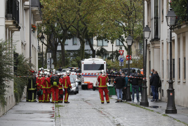 France charges four over attack on former Charlie Hebdo offices