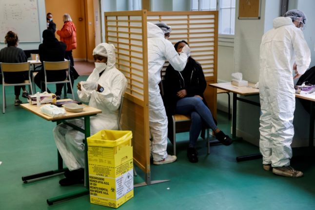 France begins mass Covid testing in four areas