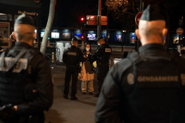 What are the rules under France's new nationwide curfew?