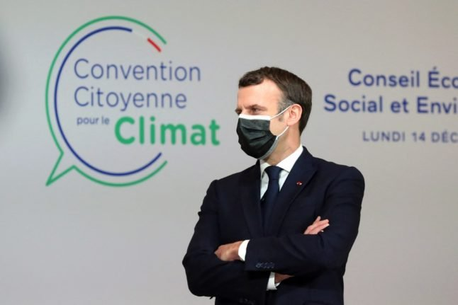Macron plans referendum to include climate change fight in France's constitution