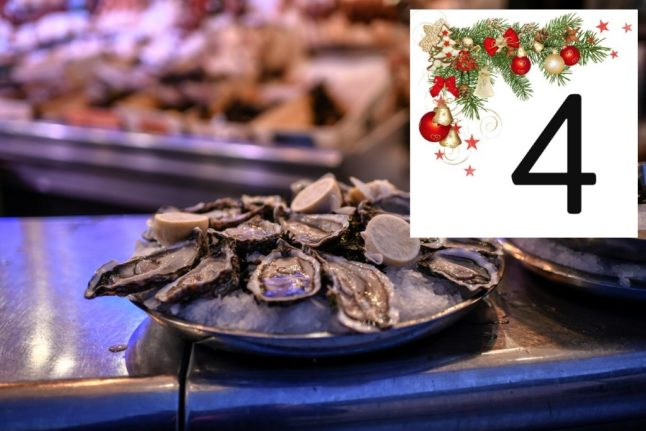 French figures: The shellfish that's a festive must-have