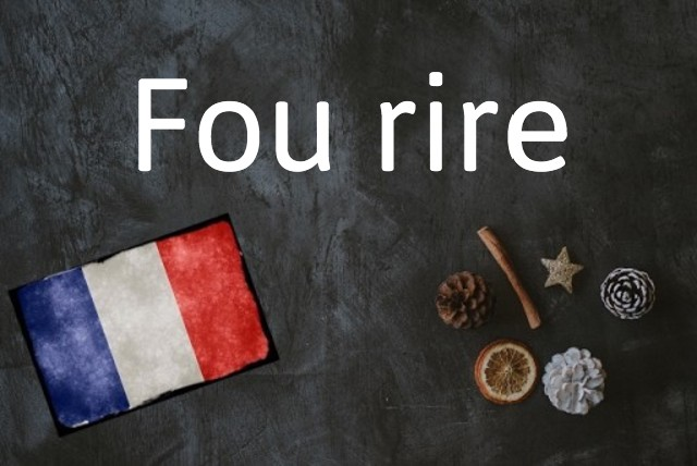 French expression of the day: Fou rire