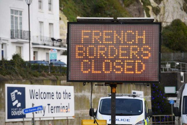 LATEST: EU recommends reopening of French border for 'essential' travel from UK