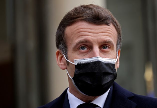 Macron posts video saying he is 'doing well' despite Covid diagnosis