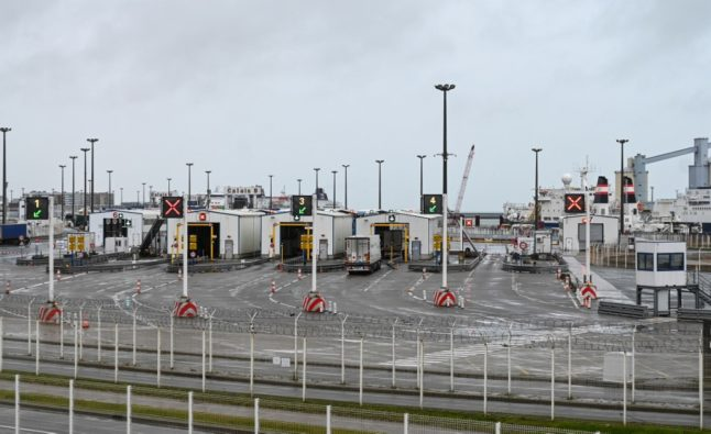 French port of Calais deserted as travellers opt not to risk getting stuck in UK