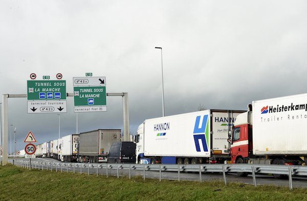 Thousands of trucks mass at Dover in cross-Channel chaos