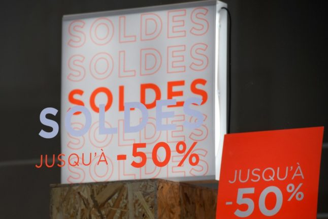 France launches its delayed winter sales