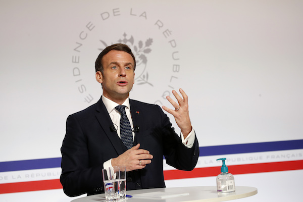 Why has Macron decided against a new lockdown in France?