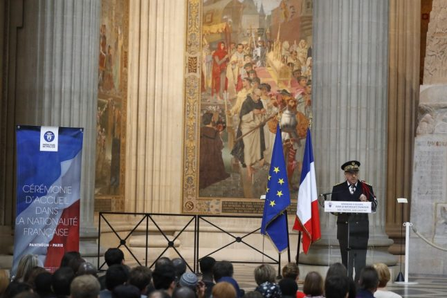 'Thank you France, for offering me citizenship to recognise my work during the pandemic'