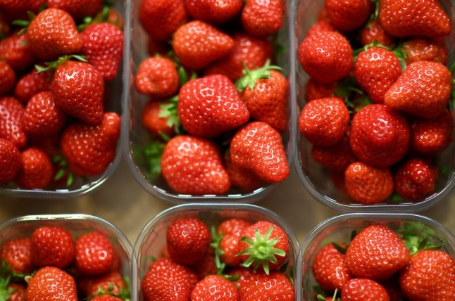 Why one French supermarket chain has banned the sale of strawberries