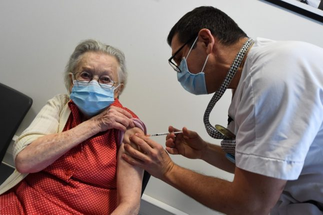 Moderna vaccine will be used in areas of France worst-hit by Covid-19