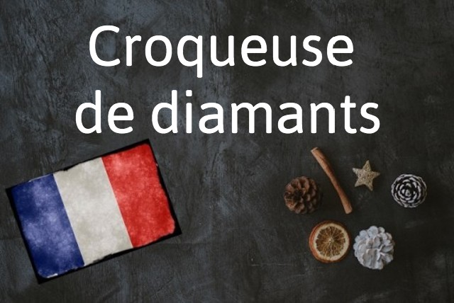 French expression of the day: Croqueuse de diamants