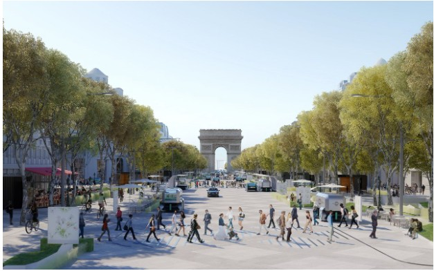 Paris: Champs-Elysees to be transformed into 'extraordinary garden'