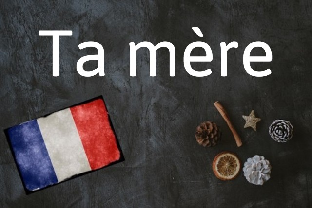 French expression of the day: Ta mère