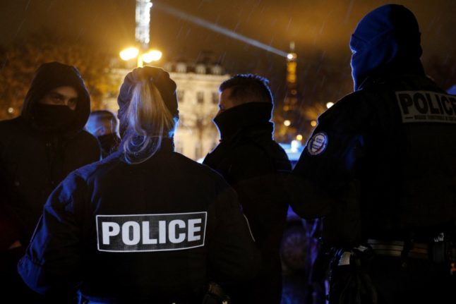 Curfew-breaking party at Paris police station causes uproar in France