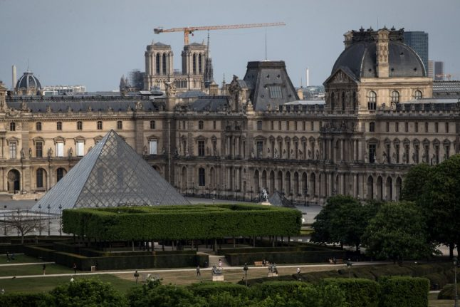 Paris' Louvre museum sees 70 percent fall in visitors due to Covid restrictions