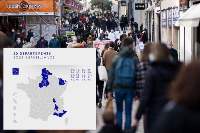 IN DETAIL: Which 20 French départements face new restrictions and why?