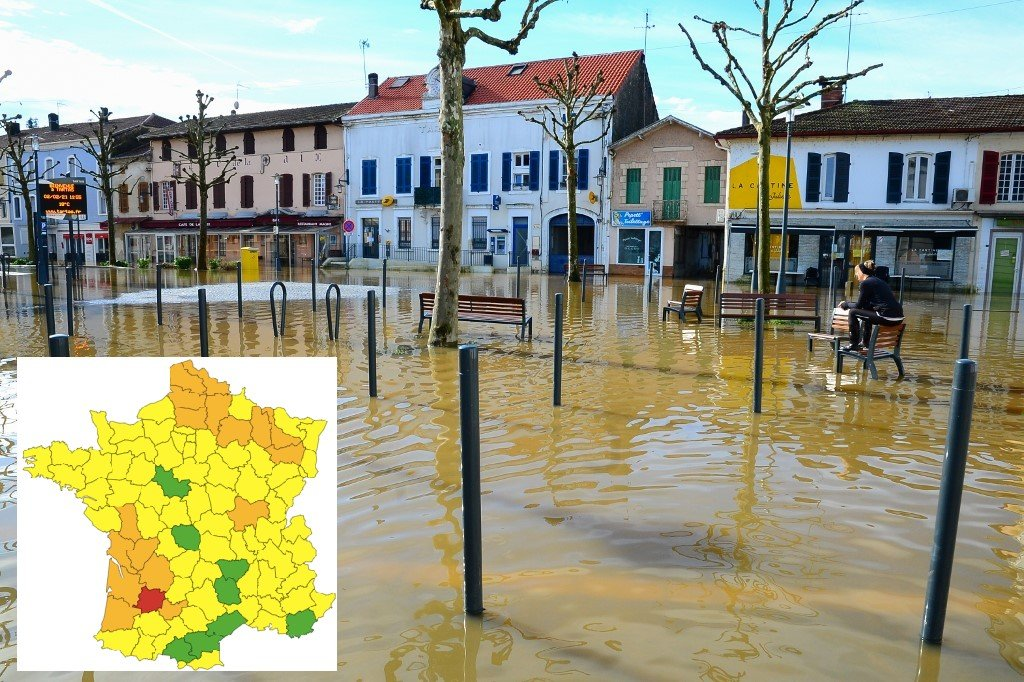 Severe floods hit France as torrential rain continues