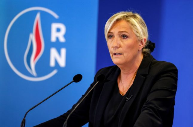 French far-right leader Le Pen in court on hate speech charges