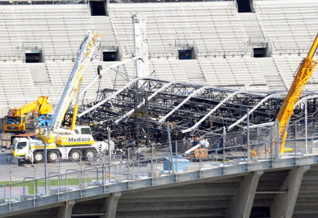 French concert promoters in court over collapse of Madonna stage set that killed two people