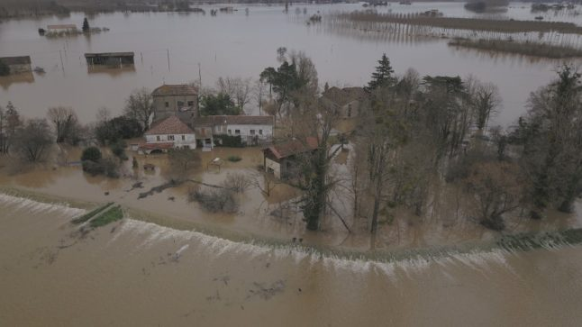 Natural disaster to be declared after floods in south west France