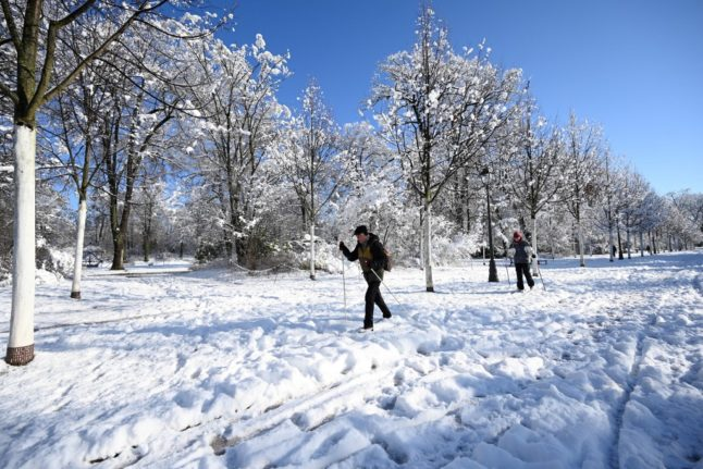 France hit by big chill as snow and ice warnings extended across country