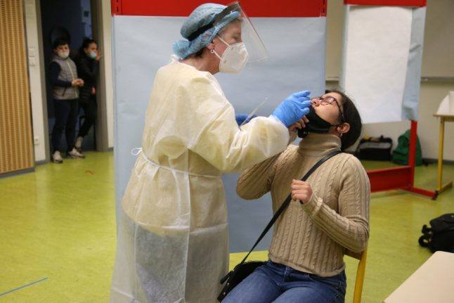 France rolls out saliva tests to detect Covid-19 in schools and universities