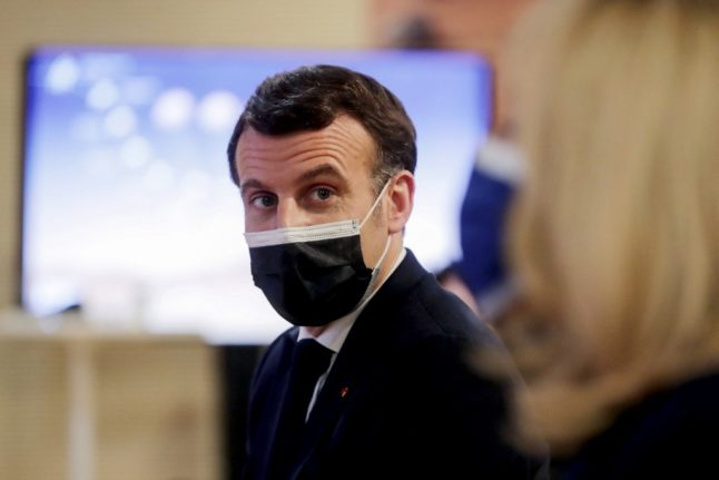 Macron proposes that rich countries transfer 3-5% of vaccine stocks to Africa