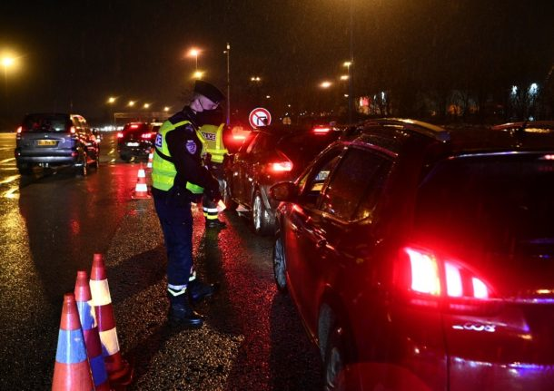 France ramps up curfew controls as police carry out more than 600,000 checks