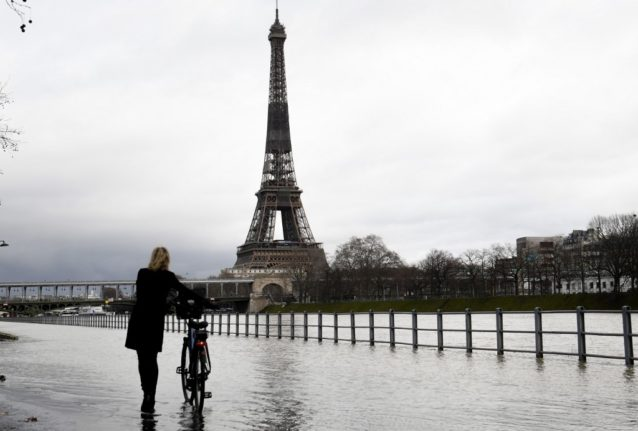 IN PICTURES: Seine floods in Paris as France faces further storms