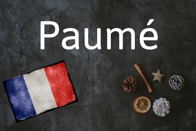 French word of the day: Paumé