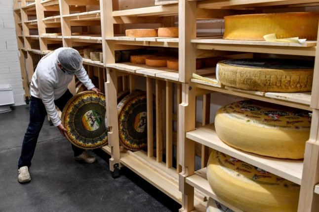 French eat record amounts of cheese to help them through pandemic