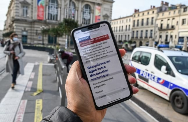 Permission forms not needed for trips within 10km of home in lockdown areas, French government announces