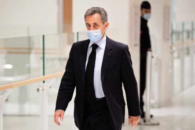 Sarkozy to appeal conviction for corruption after being handed jail term
