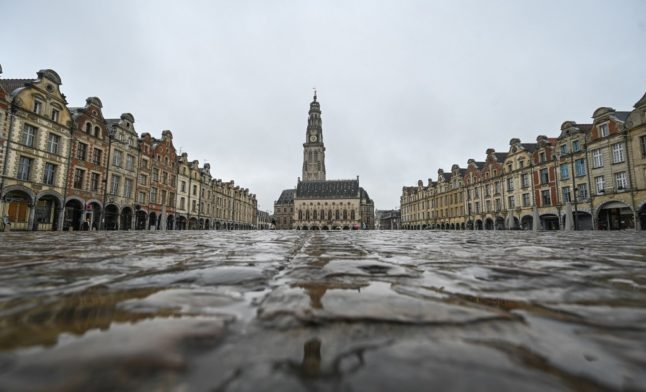 Northern France goes back into stay at home weekend lockdown
