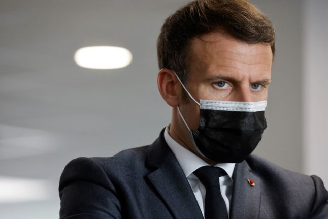 LATEST: Macron to address France in TV broadcast on Wednesday evening