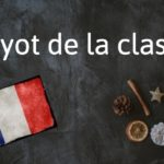 French expression of the day: Fayot de la classe