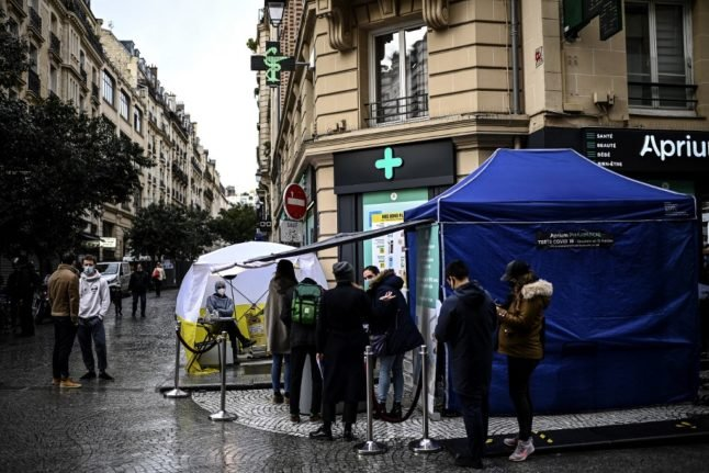 French pharmacies to sell home Covid-19 tests from April