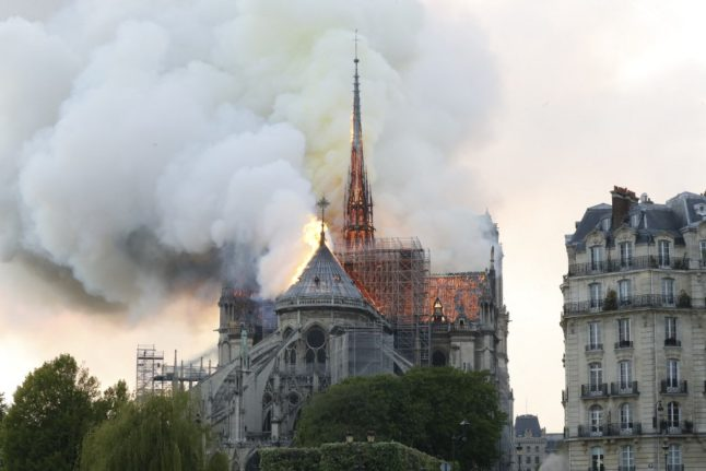 'Thank goodness there is a happy end': Rival TV series compete to tell story of Notre-Dame blaze