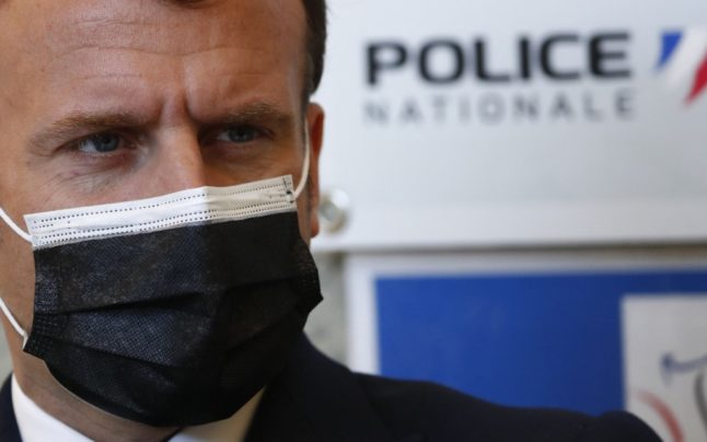'Young people are more armed': Macron warned about rise in violence