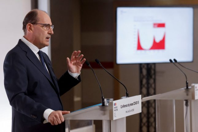 France's prime minister confirms travel restrictions to end from May 3rd