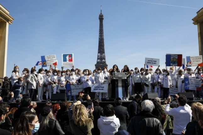 Protests in France calling for trial of Sarah Halimi killer