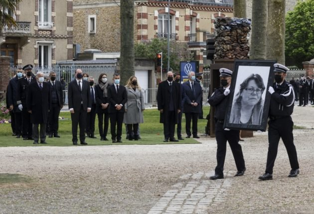 France honours Stéphanie, killed in terror attack at police station