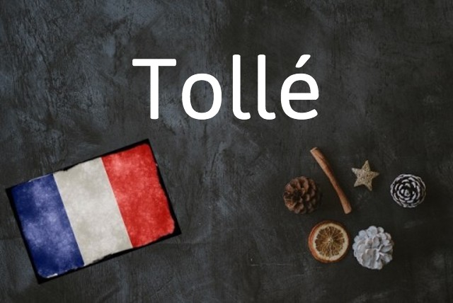 French word of the day: Tollé