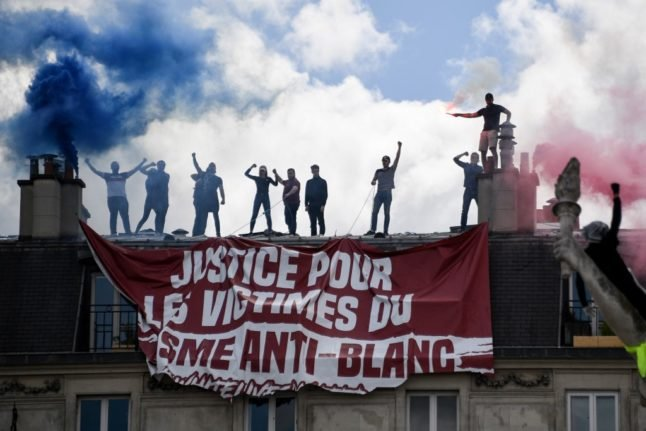 French court confirms ban on anti-migrants group