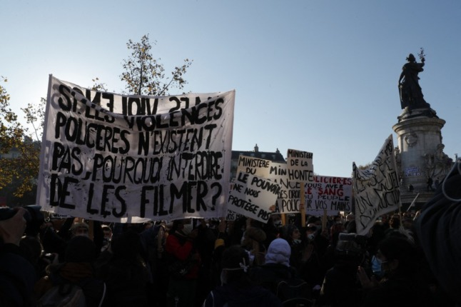 France's constitutional court rejects proposed law limiting filming of police officers