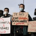French pupils stage blockades to demand the cancellation of exams