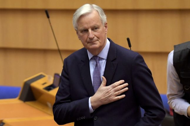 Barnier book tells inside Brexit story ahead of possible bid for French presidency