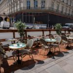 'Fully booked for a month' - France's bars and cafés prepare to reopen after six months of closure