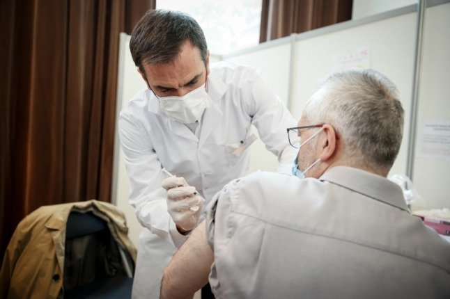 France opens Covid vaccines to all over 18s